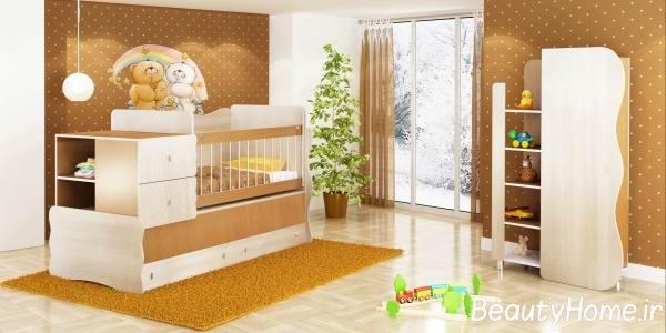 نحوه چیدمان وسایل در اتاق خواب کودک