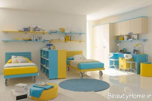 شیک ترین سرویس خواب اتاق کودک