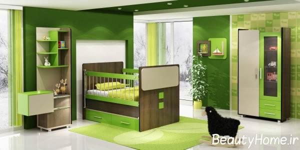 مدل های شیک از تخت و کمد کودک