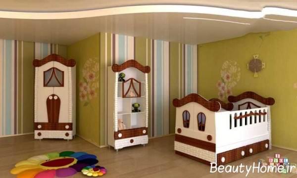 نمونه سرویس خواب های بزرگ برای اتاق خواب کوچک کودک