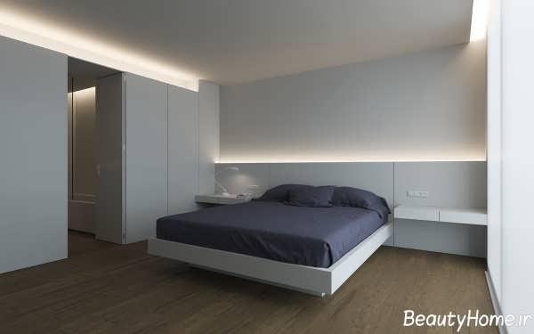 نورپردازی ساده برای اتاق خواب