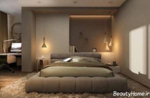 انواع تصاویر و طراحی های متفاوت برای نورپردازی داخلی اتاق خواب