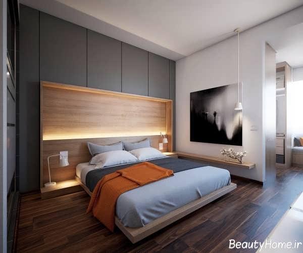 طراحی نورپردازی و دکوراسیون داخلی برای اتاق خواب