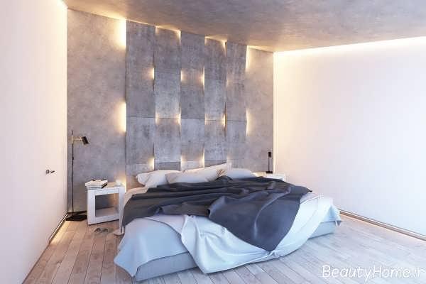 نورپرداری متفاوت و ایده آل اتاق خواب