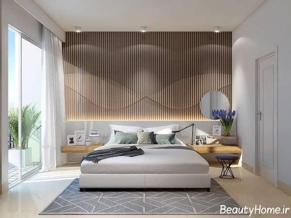 نورپردازی برای سقف اتاق خواب