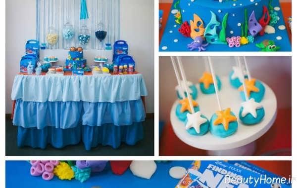 تم تولد با رنگ آبی برای کودکان پسر