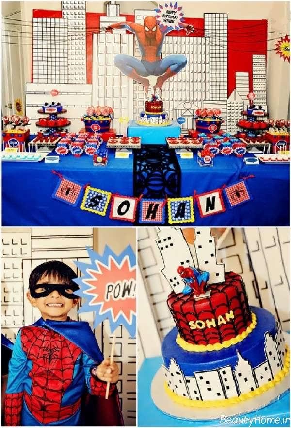 تم تولد مرد عنکبوتی پسرانه