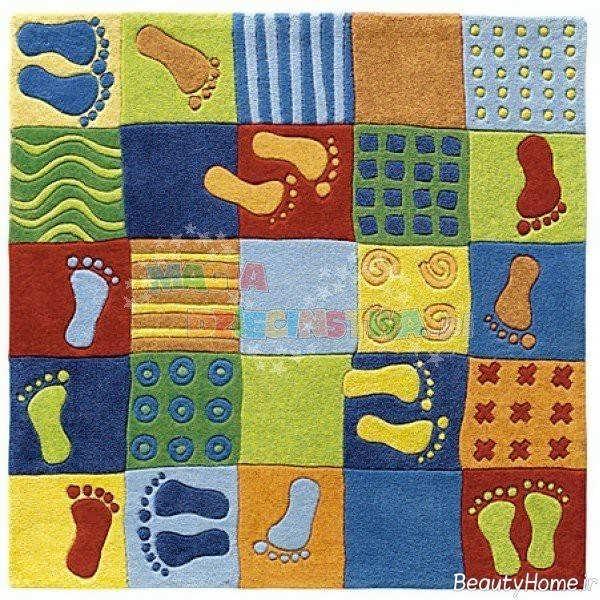 مدل فرش زیبا برای اتاق کودک