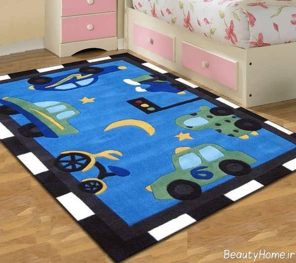 مدل های زیبا و جذاب فرش اتاق برای کودک