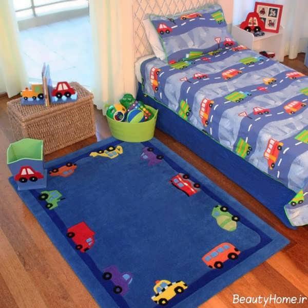 انواع مدل های جذاب فرش اتاق کودک