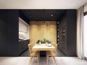 طراحی دکوراسیون آشپزخانه با ایده های جالب