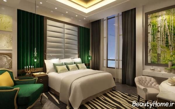 معماری بی نظیر داخلی برای اتاق خواب