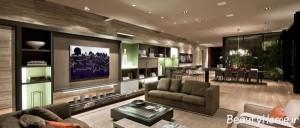 طراحی دکوراسیون منزل به همراه معماری بی نظیر داخلی ساختمان