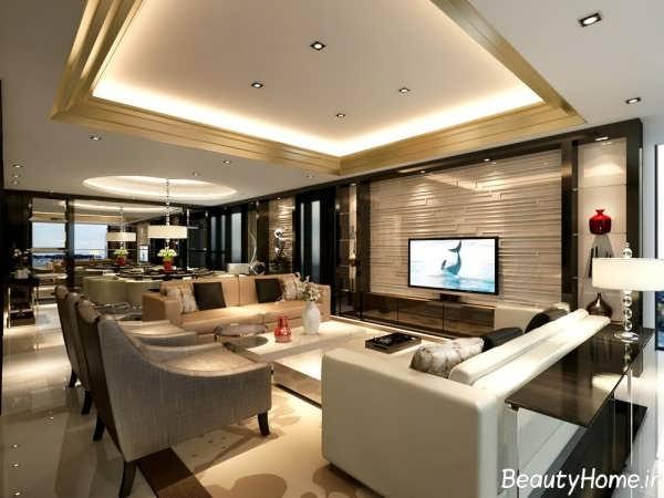 طراحی معماری شیک داخلی