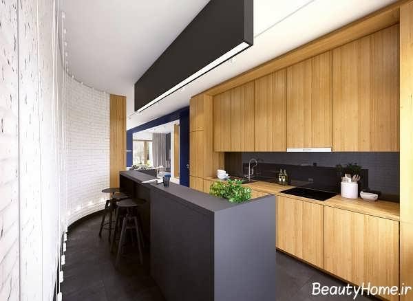 جدیدترین طراحی های چیدمان آشپزخانه
