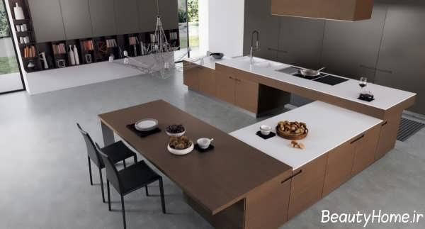چیدمان وسایل آشپزخانه با ایده های مدرن و جدید
