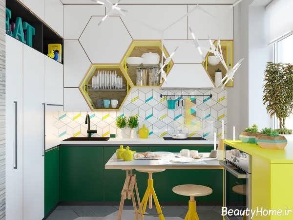 طراحی دکوراسیون داخلی برای آشپزخانه های کوچک