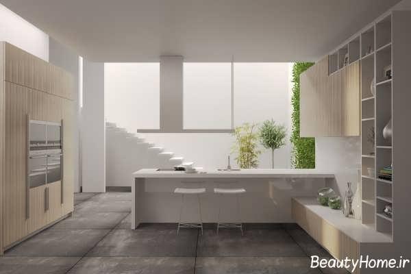مدرن ترین طراحی چیدمان وسایل آشپزخانه