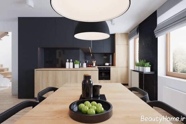 طراحی دکوراسیون داخلی آشپزخانه با برترین ایده های مدرن