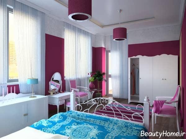 ناف های زیبا و مدرن برای اتاق خواب