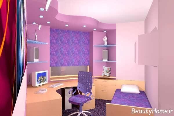 کناف های زیبا برای اتاق خواب