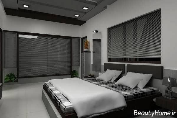 کناف های زیبا با طرح های متفاوت برای اتاق خواب
