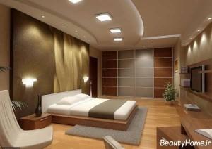 سقف کناف برای اتاق خواب
