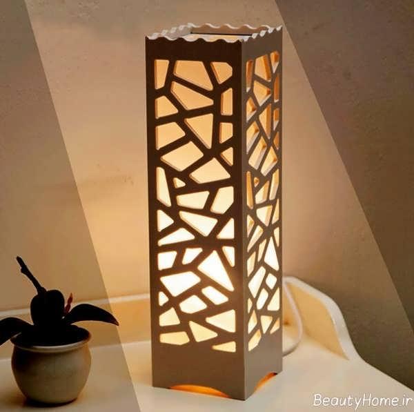 مدل زیبا آباژور چوبی