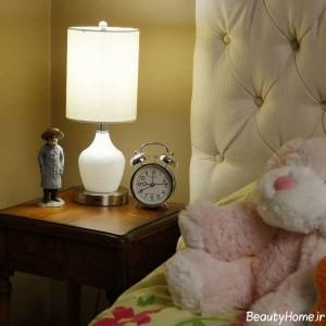 مدل شیک آباژور رومیزی برای اتاق خواب