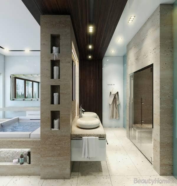 دکوراسیون جذاب برای حمام های مدرن