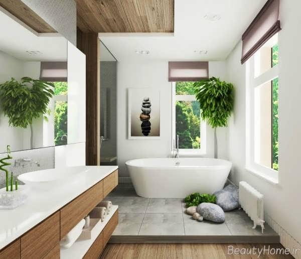 دکوراسیون حمام زیبا و شیک