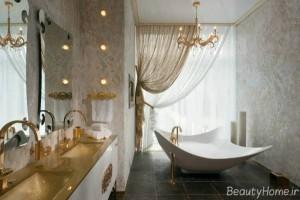 طراحی مدرن و زیبا دکوراسیون حمام