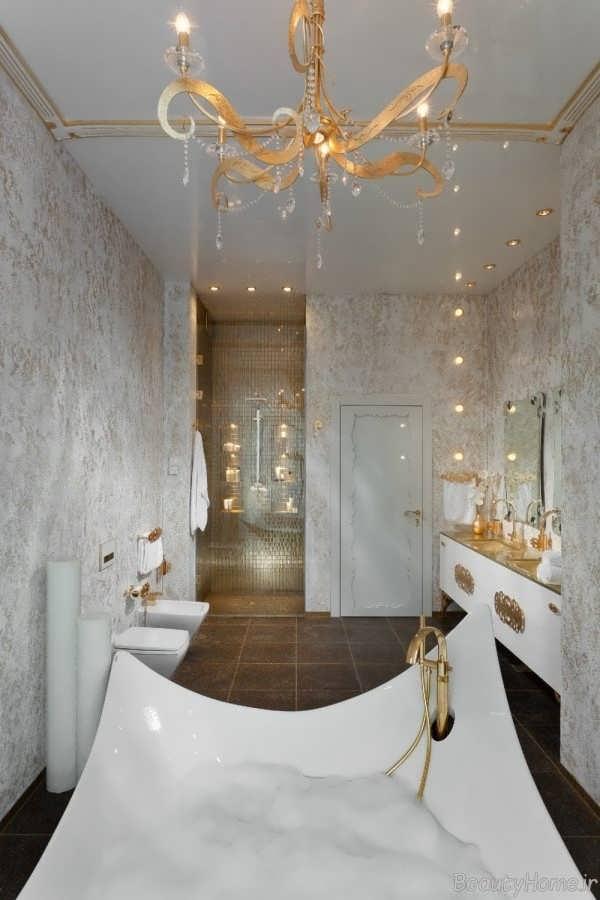 حمام های زیبا با دکوراسیون های مجلل و لوکس