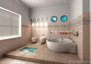 دکوراسیون حمام های لوکس و جذاب