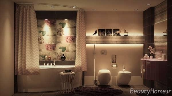 دکوراسیون حمام با برترین طراحی
