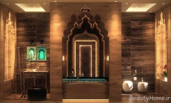 زیبا ترین طراحی ها برای دکوراسیون حمام های لوکس
