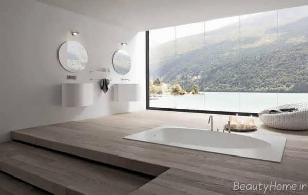 دکوراسیون متفاوت و ایده آل حمام