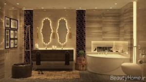 دکوراسیون داخلی حمام های زیبا