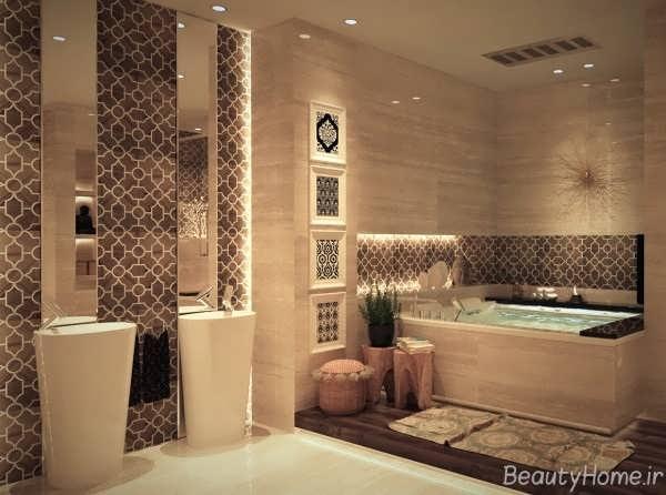 مردن ترین طراحی ها برای حمام های لوکس
