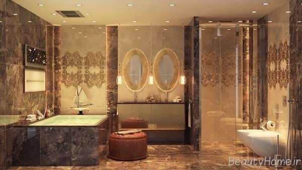 دیزاین حمام با ایده های مدرن