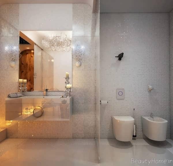 دکوراسیون حمام زیبا و مدرن