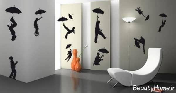 طرح های زیبا و خلاقانه نقاشی روی دیوار