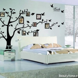 انواع نقاشی های متنوع و زیبا بر روی دیوار