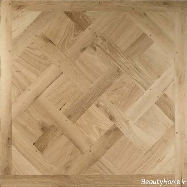 مدل ساده کفپوش چوبی