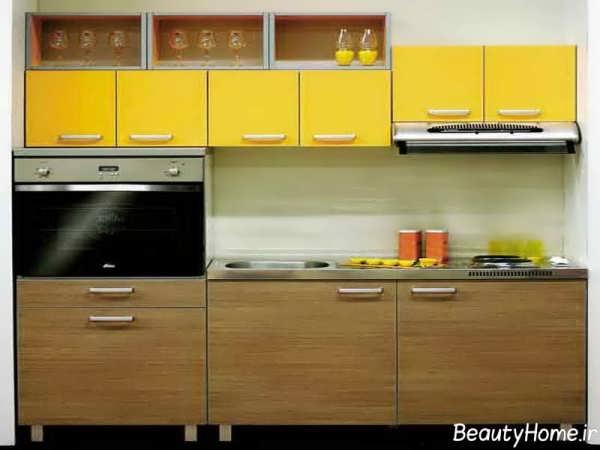 مدل کابینت برای آشپزخانه کوچک ایرانی
