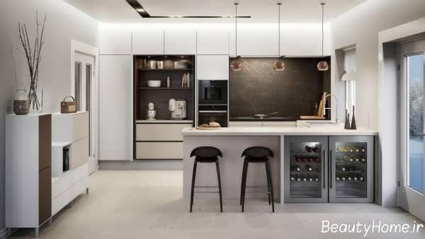 انواع متنوع مدل کابینت برای آشپزخانه کوچک