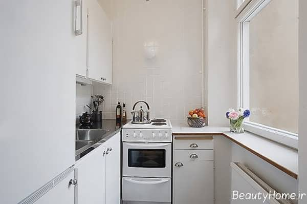 انواع کابینت های زیبا و جذاب برای آشپزخانه های کوچک