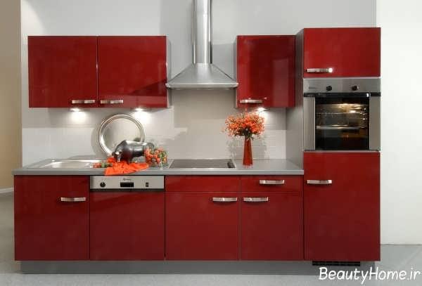 کابینت های زیبا و جذاب برای آشپزخانه های کوچک