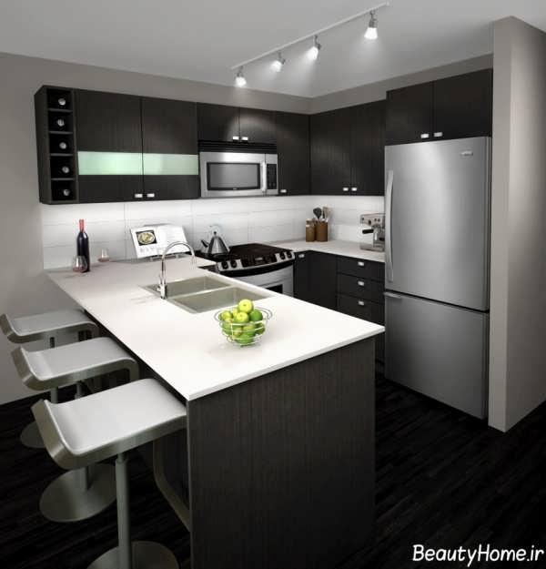 دکوراسیون و مدل کابینت برای آشپزخانه های کوچک
