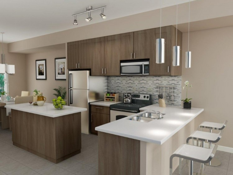 مدل های کابینت آشپزخانه کوچک